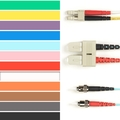 Coloured Multimode OM4 Patch Cable - LSZH Duplex