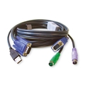 PS-2 to USB Converter KVM Cable